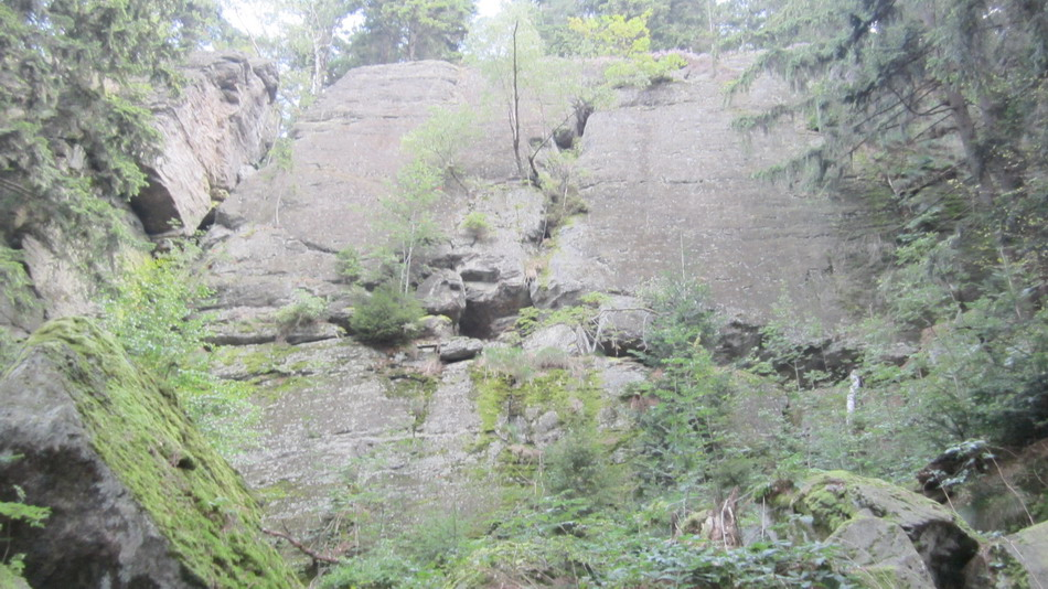 Felsen am Goldsteig
