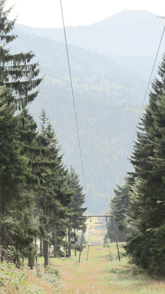 Ski-Lift in Eck