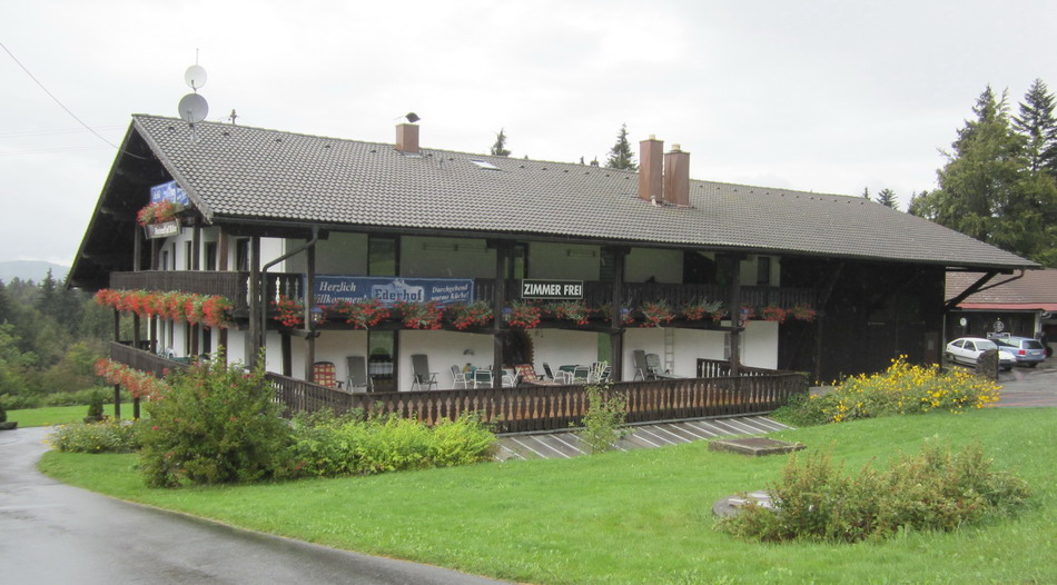 Pension u Restaurant Ederhof in Rudel