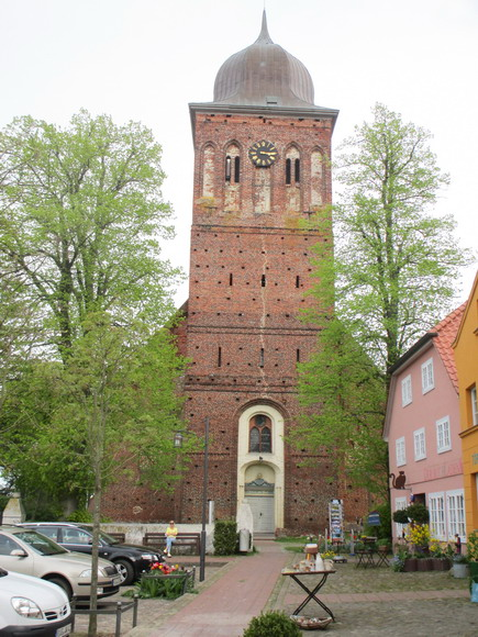 Backsteinkirche in Gingst