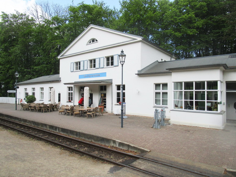 Molli Bahnhof in Heiligendamm