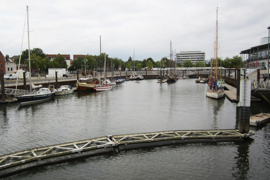 """Alter Hafen"" in Vegesack"